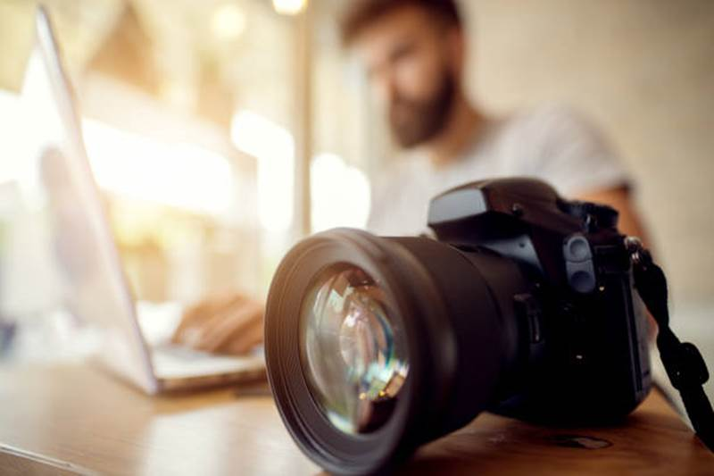Reporter photographe